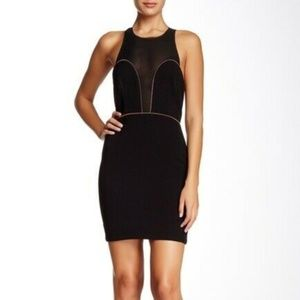 Bec & Bridge Magnetic mesh dress BNWT sz 2 flaw